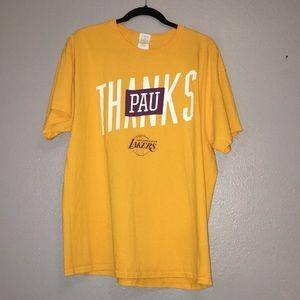 Lakers shirt